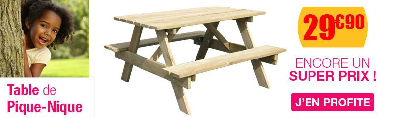mobilier enfant pour la terrasse - oogarden