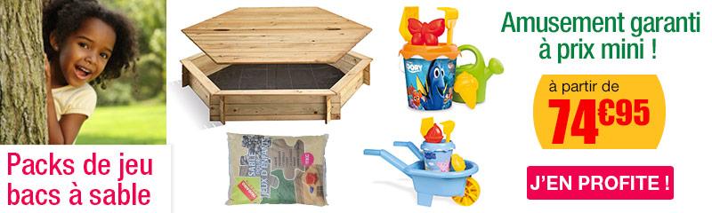 good bac sable hexagonal avec couvercle with bac a sable en bois pas cher. Black Bedroom Furniture Sets. Home Design Ideas