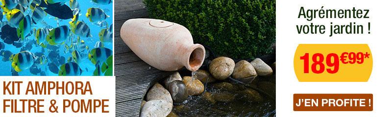Fontaines et bassins pour le jardin chez OOGarden