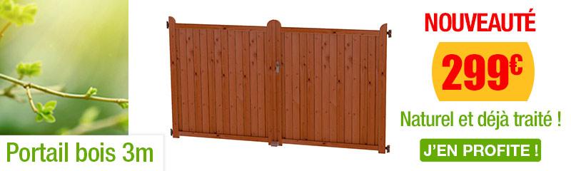 portail bois