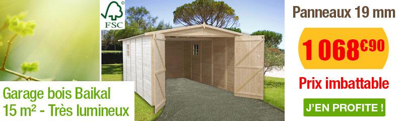 garage en bois – oogarden : vente de garages en bois pour le jardin