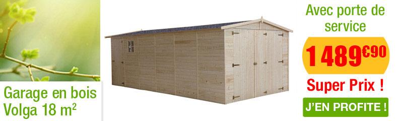 Garage en bois pour le jardin oogarden belgique - Garage automobile en belgique ...