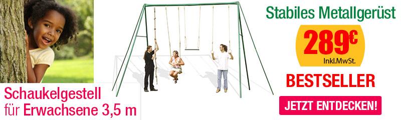 schaukelgestell aus metall f r kinder oogarden deutschland. Black Bedroom Furniture Sets. Home Design Ideas