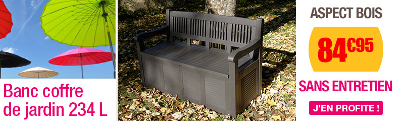 Coffre de jardin et Rangement extérieur | OOGarden