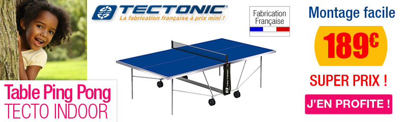 Table de ping pong tennis de table ext rieur oogarden - Dimension table de ping pong cornilleau ...