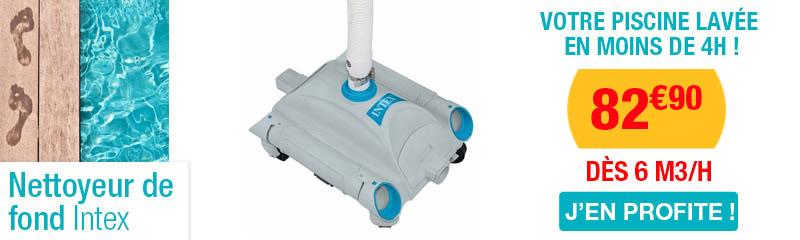 Nettoyeur nettoyeur with nettoyeur free nettoyeur vapeur for Nettoyeur automatique de piscine intex