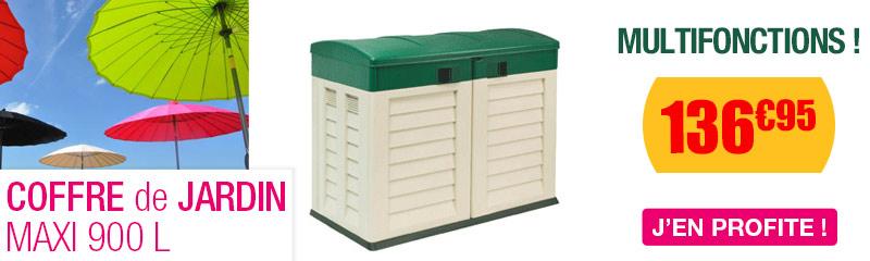 coffre de rangement exterieur resine cheap coffre de. Black Bedroom Furniture Sets. Home Design Ideas