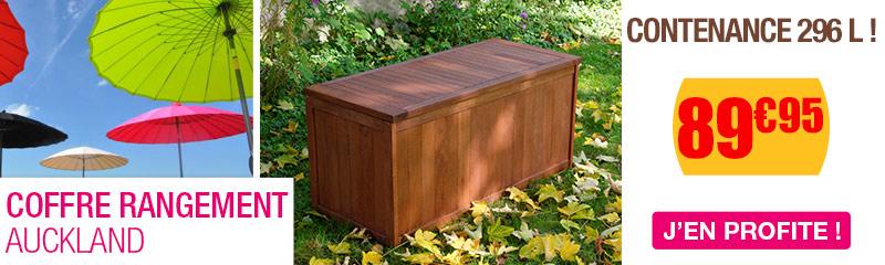 Coffre filtration en bois coffre de jardin terrasse Coffre terrasse bois