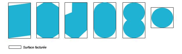 forme B : bache a bulles