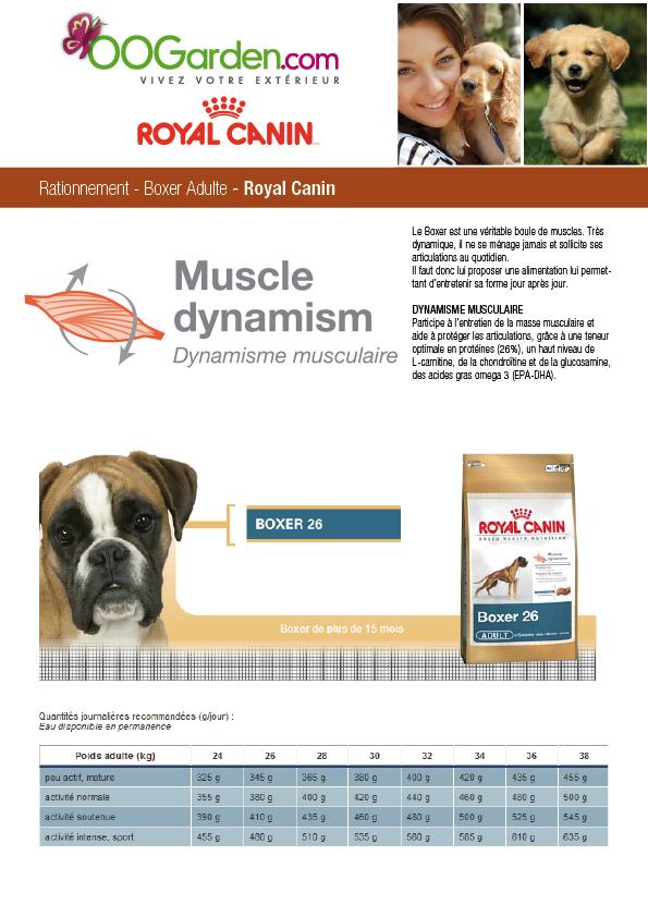 Promo breed nutrition boxer adulte 12 2 kg - Croquettes royal canin club cc sac de 20kg ...