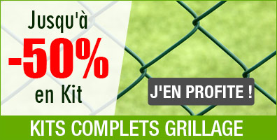Kits grillage complet reduction 50%