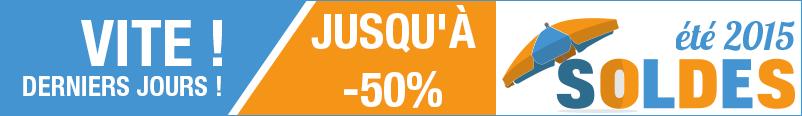 Soldes d'été jusqu'à - 50 %