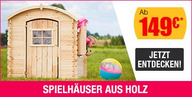 Kinderspielhaus Gaspard aus Holz