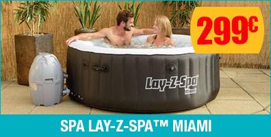 Lay-z-Spa Rond Miami 0-4 personnes