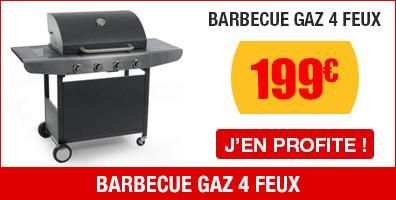 Barbecue gaz COLORADO 4 feux