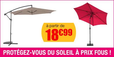 parasol et ombrages