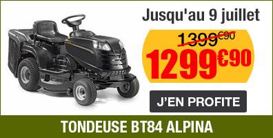 tondeuse bt84 alpina