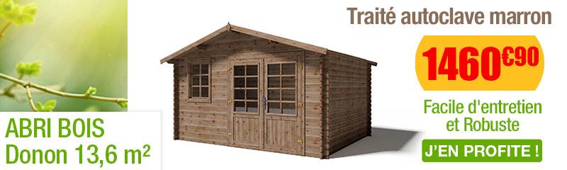 Abri de Jardin en bois Traité Autoclave | Cabane de jardin | OOGarden