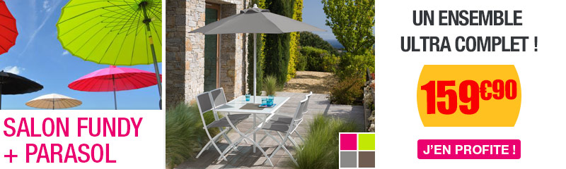 Petit Salon de jardin pour balcon | Aménager votre balcon | OOGarden