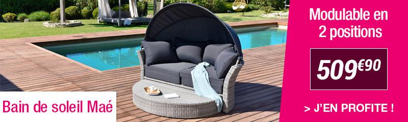 Bain de soleil pas cher : Transat de jardin et Chaise longue   OOGarden