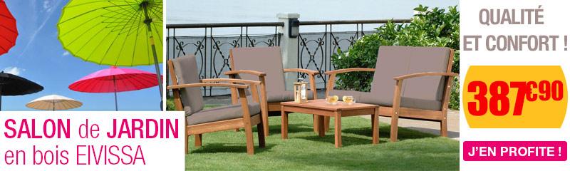 Salon Bas jardin en bois | Salons originaux pour terrasse | OOGarden