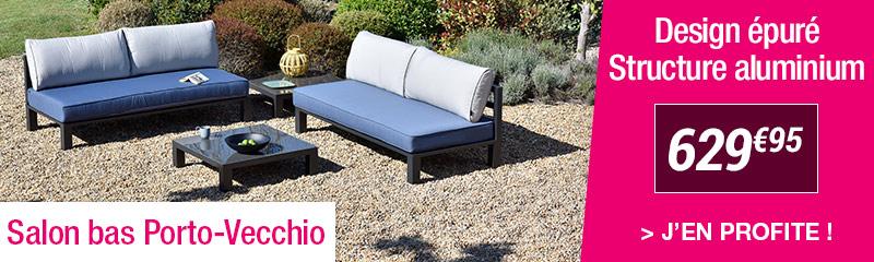 Salon et Canapé extérieur de jardin en métal | OOGarden