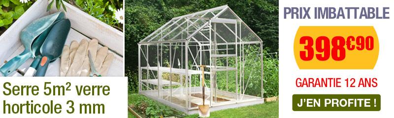 Serre de jardin en verre | Serres en verre au meilleur prix | OOGarden
