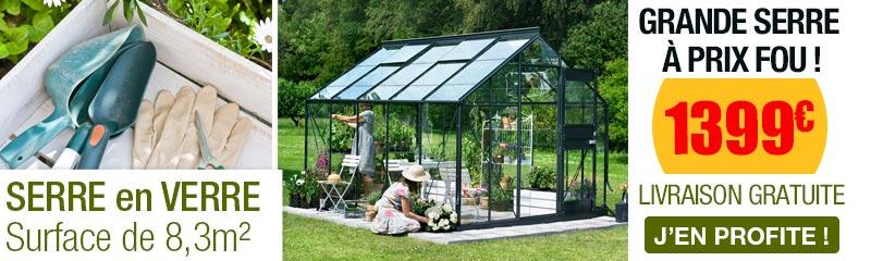 Serre de jardin en verre   OOGarden