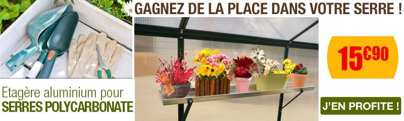 Accessoire pour serre de jardin au meilleur prix | OOGarden