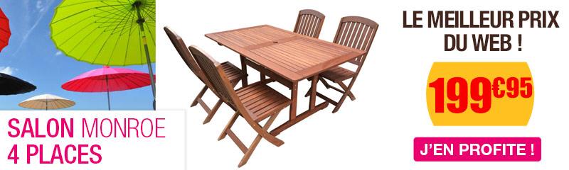 Salon en bois | Mobilier de balcon - OOGarden