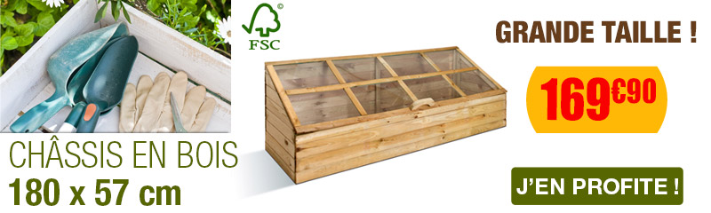 Chassis de Jardin | Serre chassis | Protection plante | OOGarden