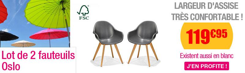 Chaise et fauteuil de jardin | Chaise pliante terrasse | OOGarden