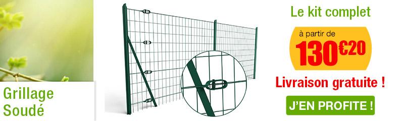 Grillage soudé | Grillage clôture | Clôture et jardin | OOGarden