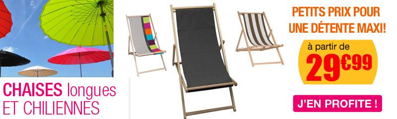 mobilier de jardin chilienne et chaises longues - Relax Exterieur