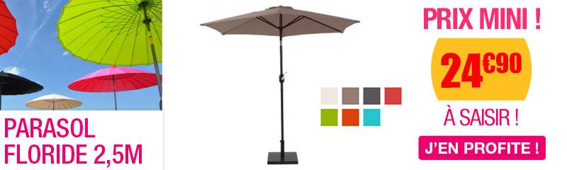 Parasol pas cher : Déporté, Rectangulaire, Rond | OOGarden