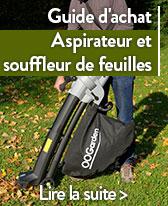 guide aspirateur et souffleur