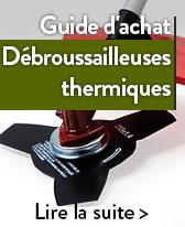 guide débroussailleuses thermiques