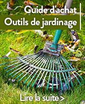 guide outils de jardinage