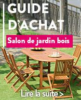 guide salon de jardin bois
