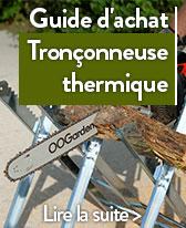 guide tronconneuse thermique