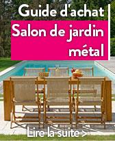 salon de jardin metal