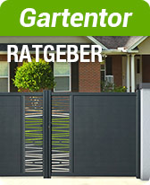 Ratgeber Gartentor