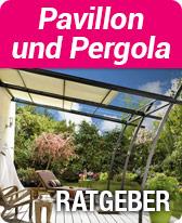 Ratgeber Pavillon und Pergola