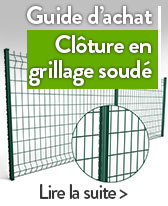cloture en grillage soude