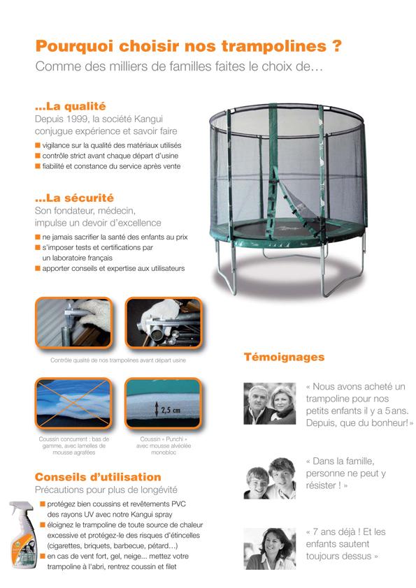 trampoline jumpi mini 200 kangui diam tre 2 m trampoline enfants oogarden france. Black Bedroom Furniture Sets. Home Design Ideas